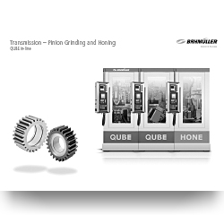 Flyer Application | Transmission - Pinion Grinding and Honing