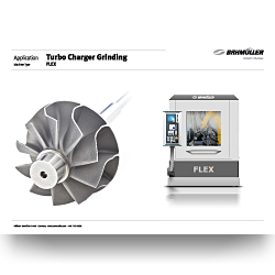 Flyer Application | Turbo Charger Grinding
